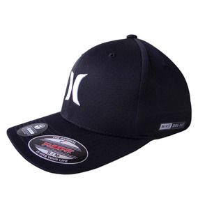 Gorra Hurley Dri-fit One & Only Negro Blanco/37 L/xl