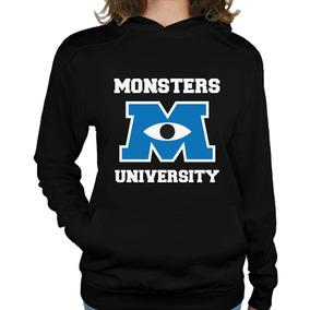 Sudadera Gorro Mujer Monsters University Monster Inc.