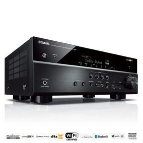 Receiver 7.2ch Yamaha Rx-v585 Atmos Bt Wi-fi Airplay 4k Uhd