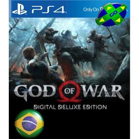 God Of War Deluxe Edition - Ps4 Original 1 - Português Br