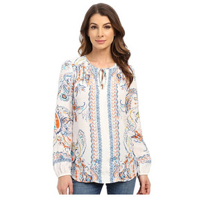 Shirts And Bolsa Karen Kane Split Placket 86806
