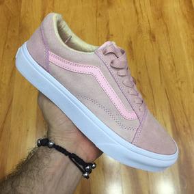 tenis vans mujer rosa