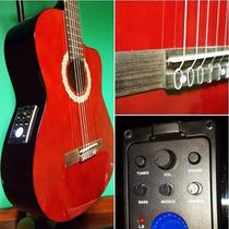 Guitarras Electrocriollas Parquer C/ecualizador Y Afinador!!