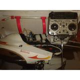 Helicoptero Raptor 50 A Gasolina De Avion