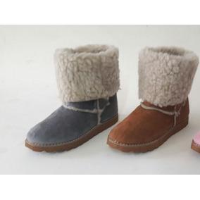 Pantubotas Australianas Con Piel Botas Zapatos De Mujer