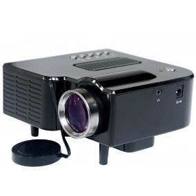 Mini Projetor Portátil Led 60 Pol Preto Filmes/ Imagens