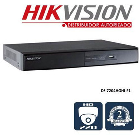 Hikvision Dvr 4 Canales Turbo Hd Ds-7204hghi-f1 720p.