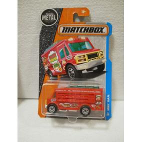 Matchbox Camion Comida China Mbx Van Rojo 11/125
