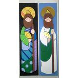 Santos Y Virgenes En Mdf San Judas Tadeo Y Mas