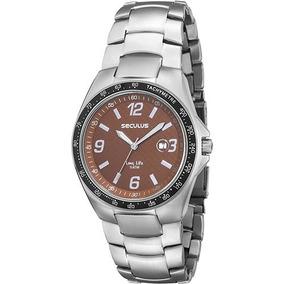 Relógio Masculino Seculus Analogico C/calendário Sbna2
