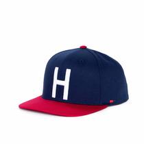 Gorra Herschel Toby Cotton Navy Red - Hs060012