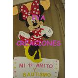 Minnie & Mickey Figuras En Goma Eva