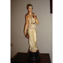 Estatua Pintada A Mano - Pintura Al Oleo