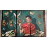 Cuadro Frida Kahlo, 3pz Arte Decoración Depa