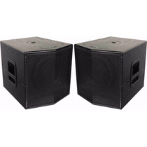 Sub Woofer Grave Ativo+passivo Ps12sw 500wrms Frahm 1000wrms