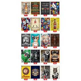 Placas Decorativas Placa Plaquinhas Retro Vintage Mdf 30x20