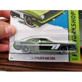 Plymouth Aar Cuda 1970 1/64 Hot Wheels #199 2013 Hw Workshop