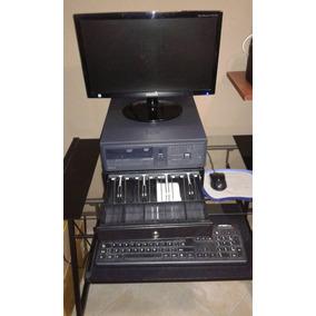 Computador Completo Cpu, Monitor, Caja De Dinero Y Accesorio