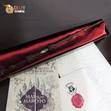 Varinha Harry Potter + Mapa + Carta + Feitiços + Bilhete