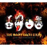 The Many Faces Of Kiss - Box Com 3 Cds - Digipack