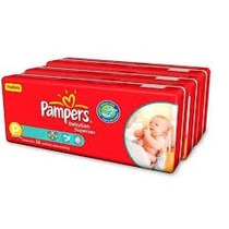 Pampers Babysan Supersec Pequeño X 60 Un. Hasta 7,5 Kg