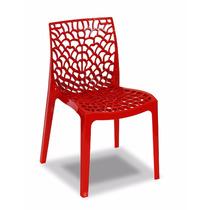 Cadeira Gruvyer - Fabricada Na Itália - Diversas Cores