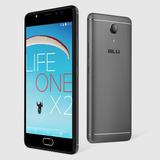 Celular Libre Blu Life One X2 Gris Dual Sim 16gb Cam 16mp