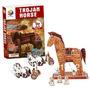 Puzzle 3d Caballo De Troya - Giro Didáctico