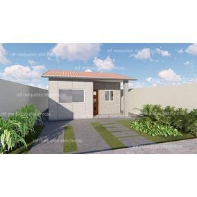 Casa Pré-moldada 44,26mt2 Placas, Pilares E Montagem - Rj/mg