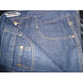 Pantalón De Jean Reforzado Con Triple Costura.