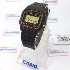 8c4e70dd275 Relogio Casio Digital F-91wg Retrô Vintage 100% Autentico