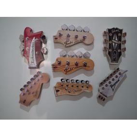 Gibson - Fender - Baixo - Guitarra - Imã De Geladeira