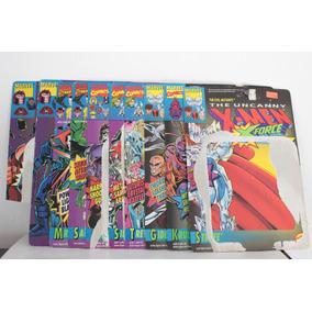10 Cartas Varias Empaques Figuras X-men Toy Biz Vintage 1