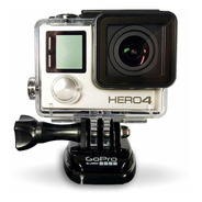Camara Gopro Hero 4 Silver Edition 4k Wifi Lcd Touch 12mp