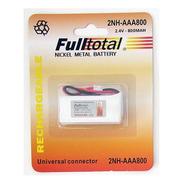Batería Inalámbrico Fulltotal 2.4v 2nh-aaa 800mah