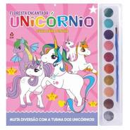 Livro Infantil Para Colorir Com Aquarela Unicórnios
