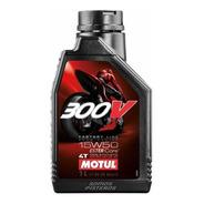 Aceite Motul Sintetico 300v 4t 15w50