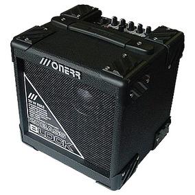 Amplificador Cubo Baixo Onerr Block 20 Bass 20w Rms