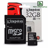 Micro Sd 32 Gb Kingston C10