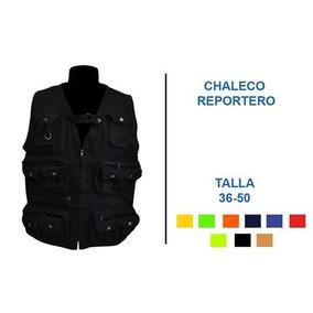 Chaleco De Seguridad Tipo Reportero