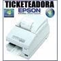 Impresora Comandera Ticketeadora Epson Tmu-375 ! Ahora 12 !