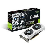 Placa De Vídeo Asus Geforce Gtx 1060 3gb Dual-gtx1060-03g