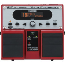 Pedal Boss Ve 20 Vocal Effects Processor Original Loja+fonte