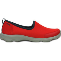 Zapato Crocs Dama Busy Day Stretch Skimmer Rojo