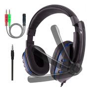 Auriculares Gamer Eurosoud Rage Plug 3.5mm Mic Headset