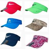Viseira Kit C/20 Preço De Atacado Floral Colorida Nike