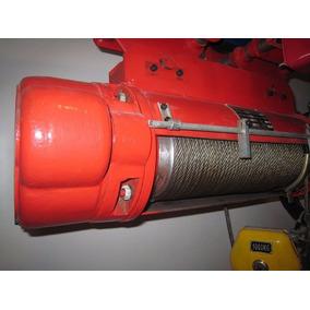 Polipasto Eléctrico De Cable 1, 2, 3, 5, 10 Y 20 Ton