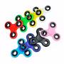 Fidget Spinner Plastico De 3 Puntas Varios Colores