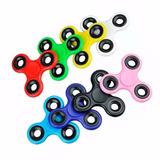 Fidget Spinner Sencillo Plastico De 3 Puntas Varios Colores