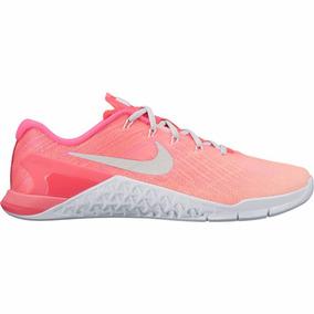 Zapatillas Nike Crossfit Mujer Metcon Rosa